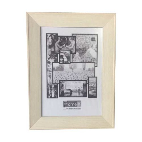 A4 Cream White Ready-Made Frame