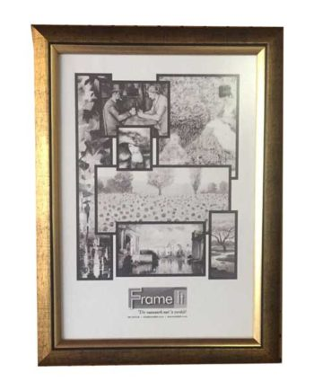A4 Gold Ready-Made Frame