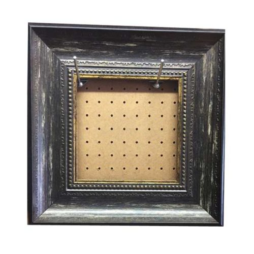 Charcoal-Silver Square Ready-made Frame