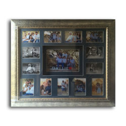 Photo Framing Collage & Blue Mounting