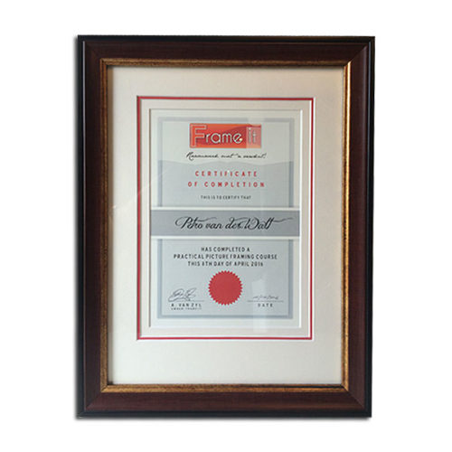 frame it certificate