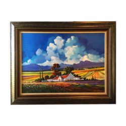 Landscape Painting Framing