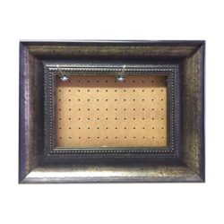 A5 Silver Brown Ready-made Frame