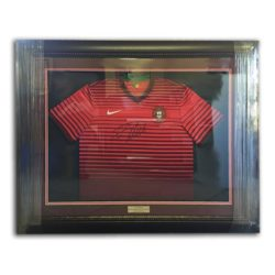 Red Sport Jersey Framing